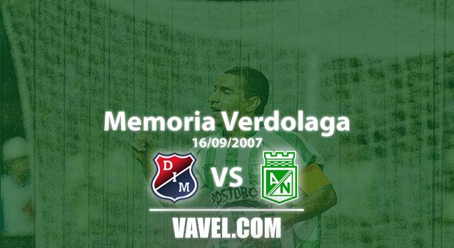 Memoria 'verdolaga': el día que Nacional remontó y aplastó al Medellín