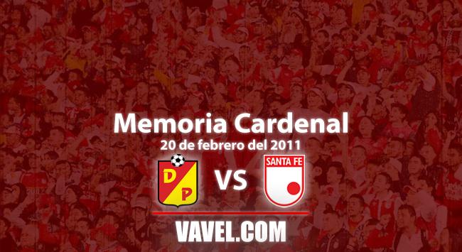 Memoria 'cardenal': Pereira vs. Santa Fe, igualdad en goles, puntos y fútbol defensivo