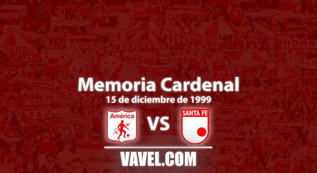 Memoria cardenal: la ida entre Santa Fe y América en la Copa Merconorte de 1999