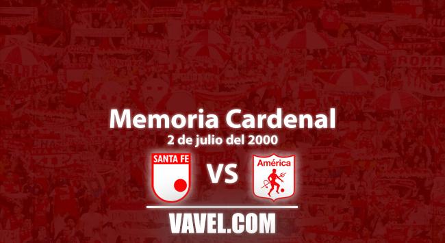 Memoria cardenal: goleada de Santa Fe a América en 'El Campín'