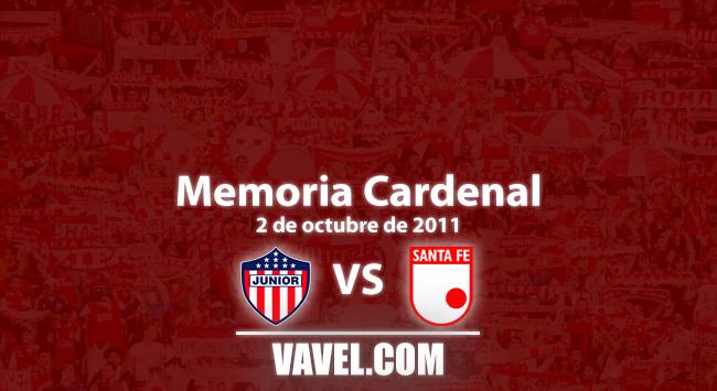Memoria cardenal: un agónico empate santafereño en Barranquilla