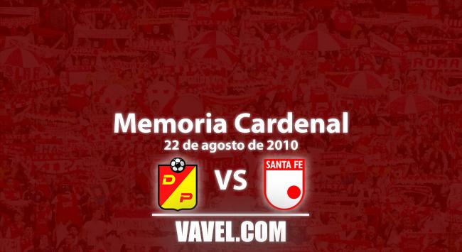 Memoria Cardenal: Pereira, una plaza con buenos recuerdos para Santa Fe