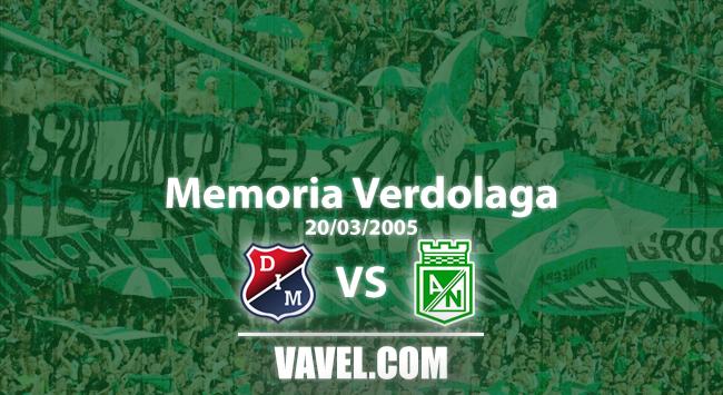 Memoria 'verdolaga': Perea, Zúñiga y Aristizábal le dieron la victoria 4-0 a Atlético Nacional frente a su clásico rival
