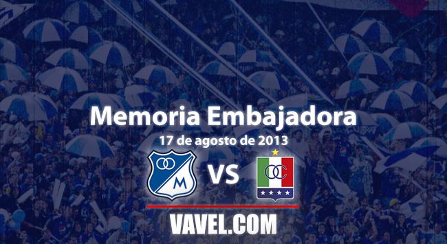 Memoria 'embajadora': victoria de Millonarios sobre Once Caldas con Dayro Moreno ¡On fire!