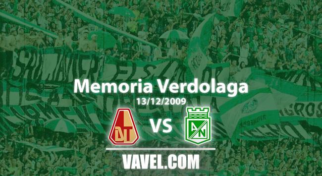 Memoria 'verdolaga': por cuadrangulares, Nacional derrotó a Tolima 4-3 en Ibagué