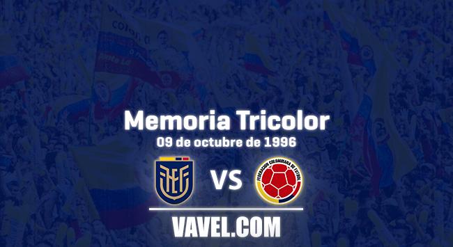 Memoria tricolor: triunfo colombiano en Quito rumbo a Francia 98'