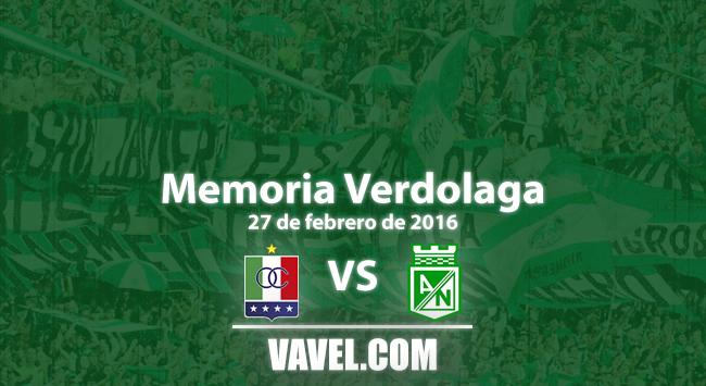 Memoria 'verdolaga': goleada lírica en Palogrande en 2016-I