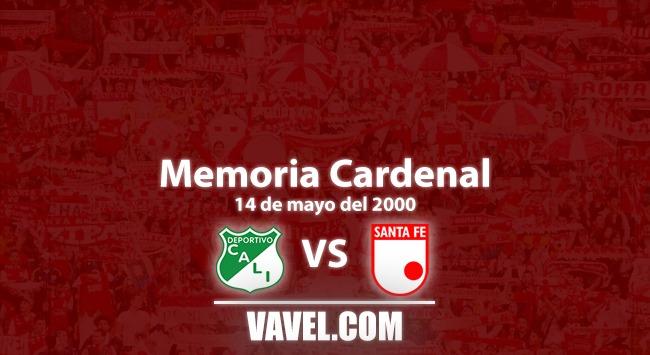 Memoria cardenal: festín de goles entre Cali y Santa Fe en mayo de 2000