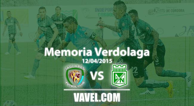 Memoria 'Verdolaga': el único duelo del Nacional de Osorio ante Jaguares en Montería