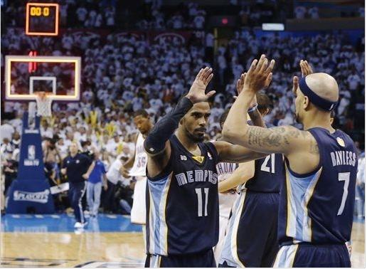 Grizzlies vence Thunder e avança as finais da conferência oeste