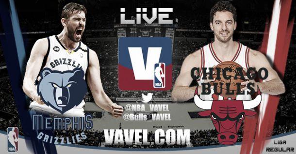 Memphis Grizzlies vs Chicago Bulls en vivo y en directo online
