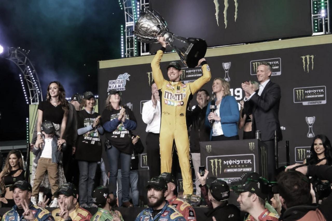 ¡¡¡Kyle Busch bicampeón de Cup!!!