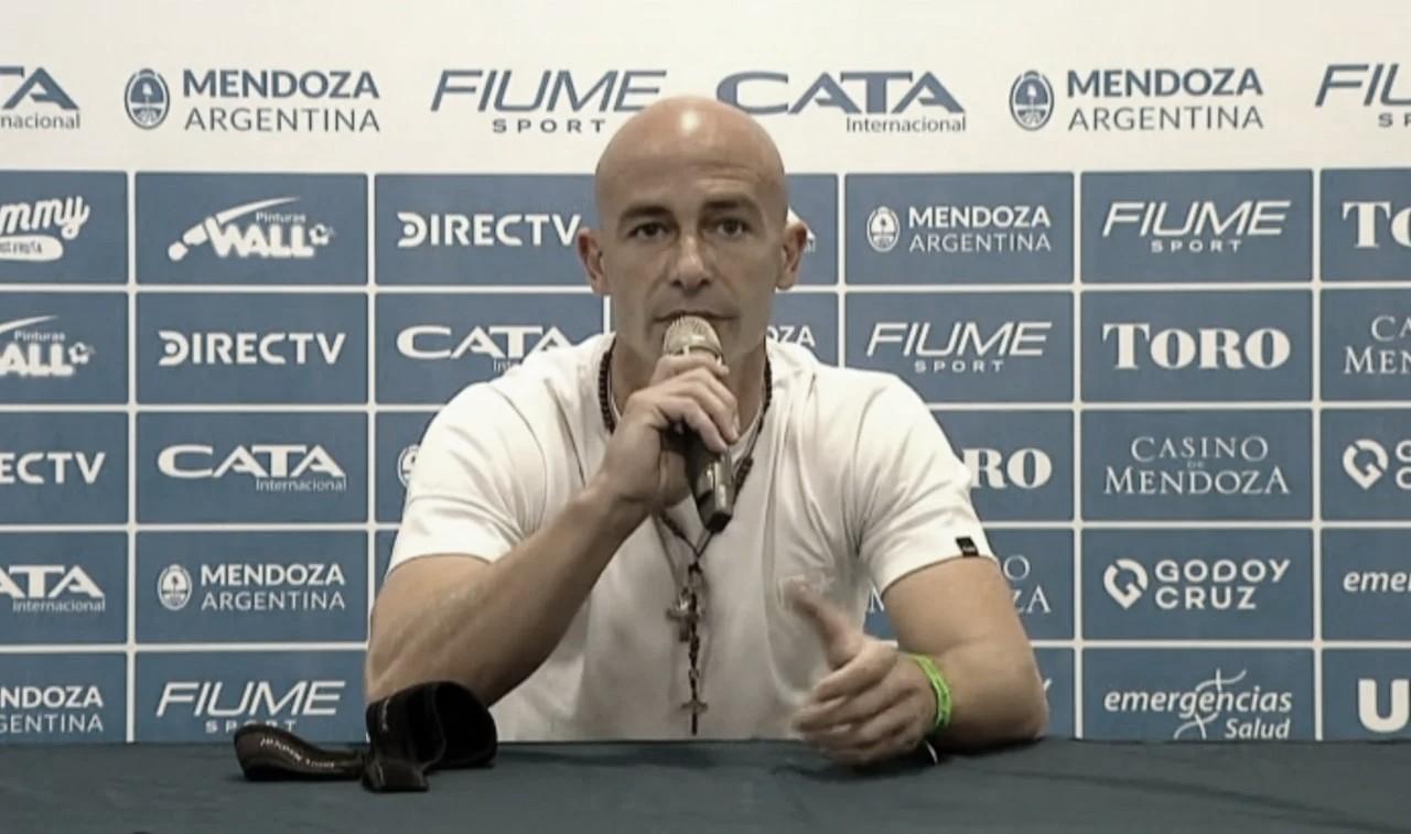"""Sebastián Méndez: """"le pido mil disculpas a la gente de Godoy Cruz"""""""