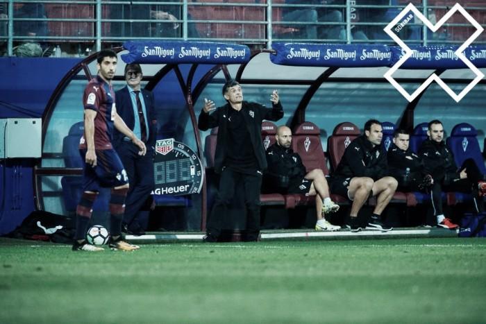 """Mendilibar: """"La jugada del gol ha sido un reflejo de nuestro fútbol"""""""