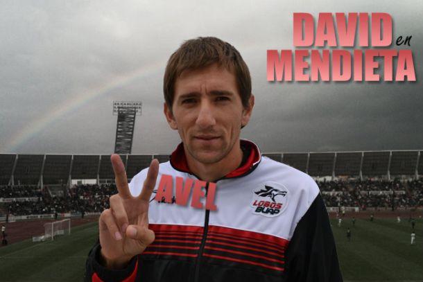 """David Mendieta: """"Los extranjeros tenemos que marcar diferencia"""""""