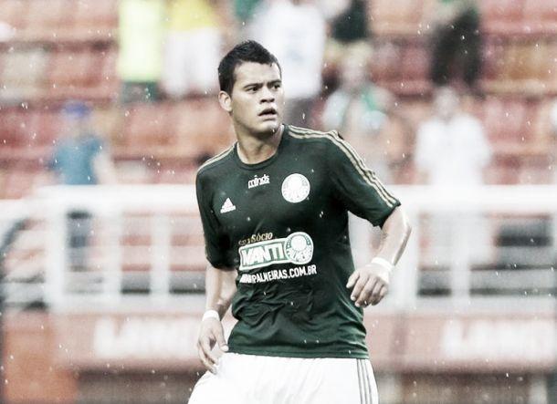 Mendieta marca seu primeiro gol em 2014 e projeta estreia em clássicos pelo Palmeiras