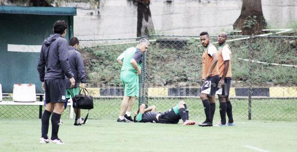 David Mendieta será baja para el partido frente a Uniautónoma