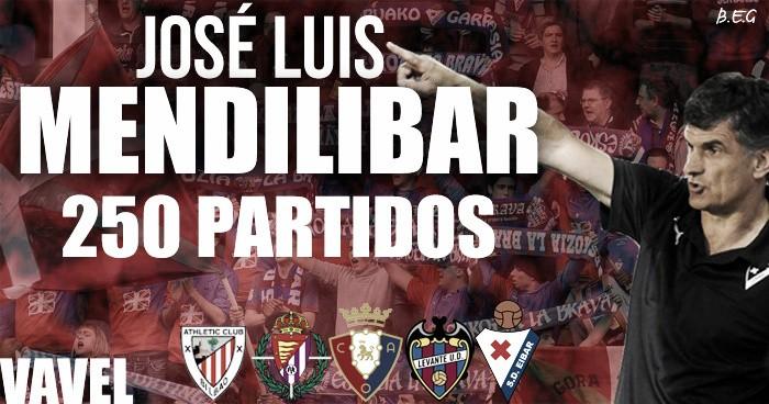 Mendilibar llega a 250 partidos en Primera