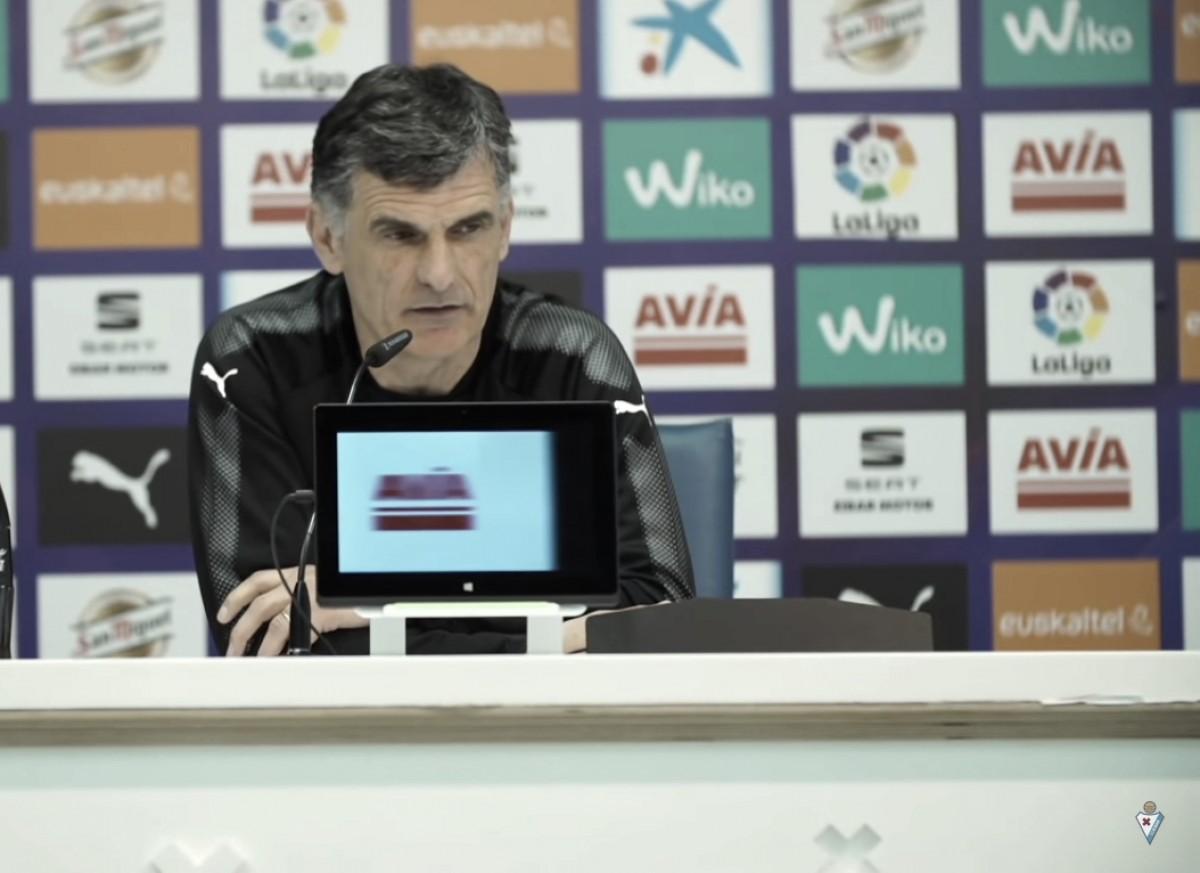 "Mendilibar: ""Jugaremos contra un buen Alavés"""
