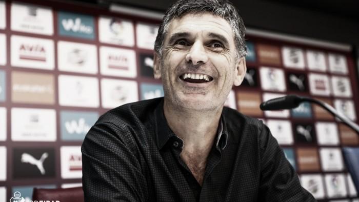 """Mendilibar: """"Siempre he querido jugar en campo contrario, sea cual sea el rival"""""""