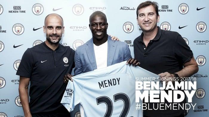 Após Danilo, Manchester City anuncia lateral Benjamin Mendy, ex-Monaco
