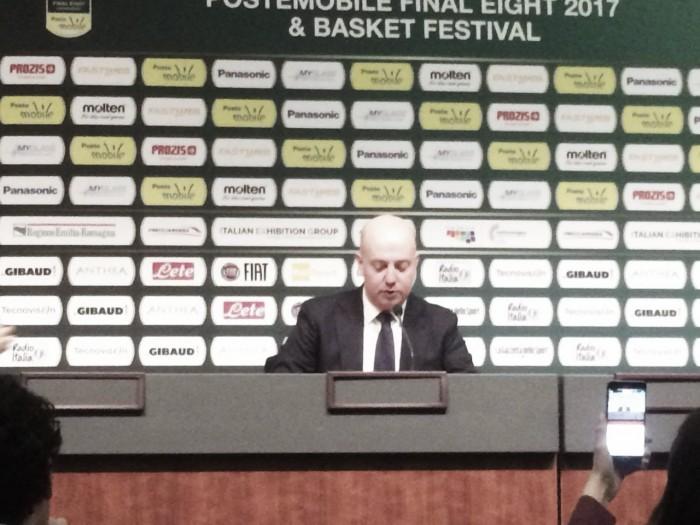 Final Eight 2017 - Reggio Emilia sconfitta, l'amarezza di Menetti