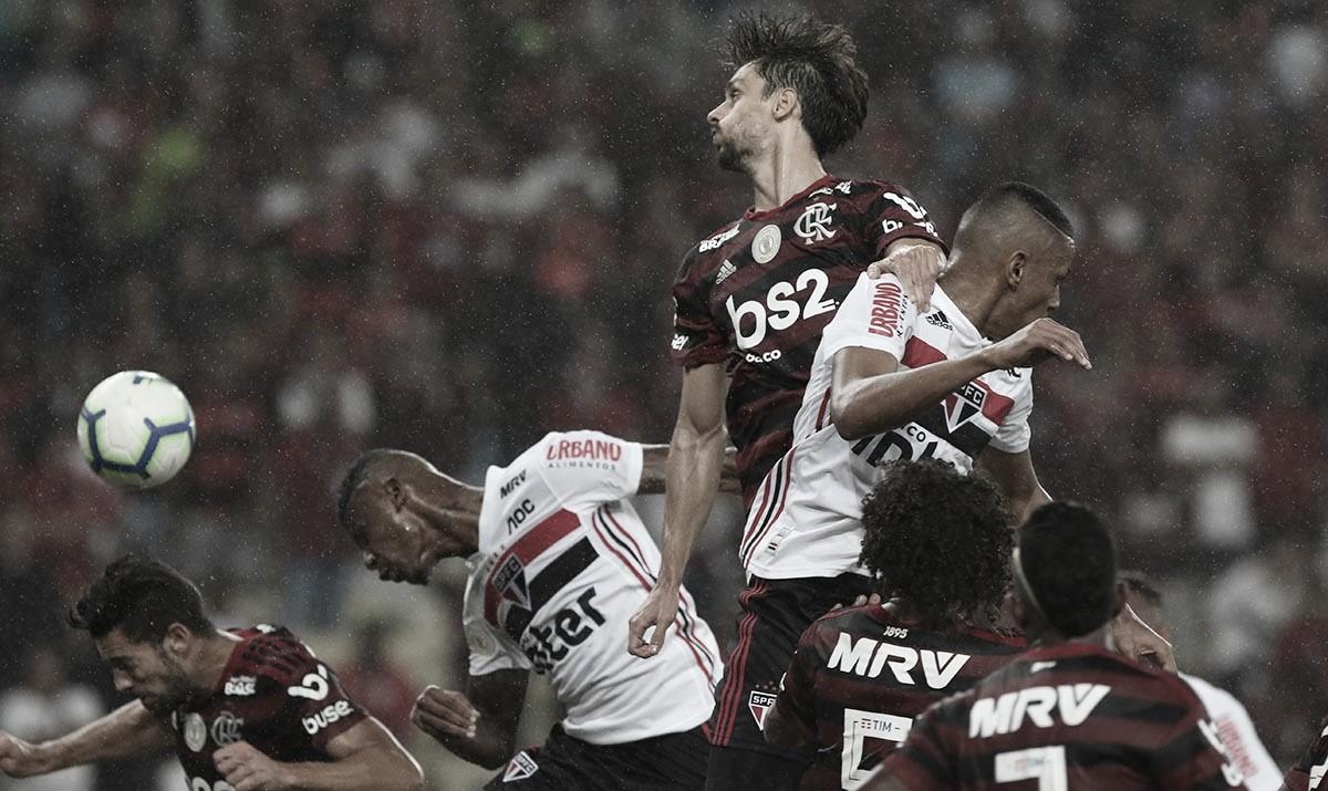 Em noite sem gols, Flamengo e São Paulo empatam no Maracanã