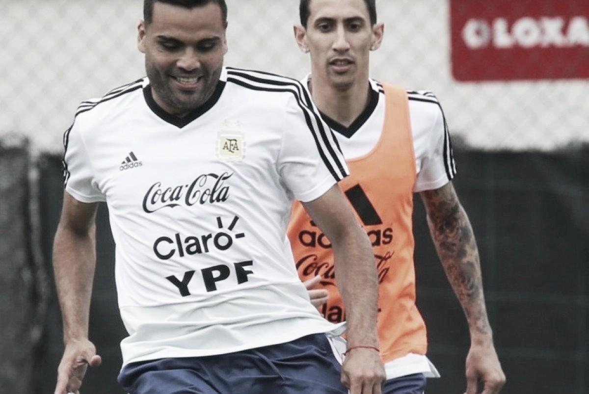 """Gabriel Mercado: """"Me estoy entrenando con normalidad"""""""