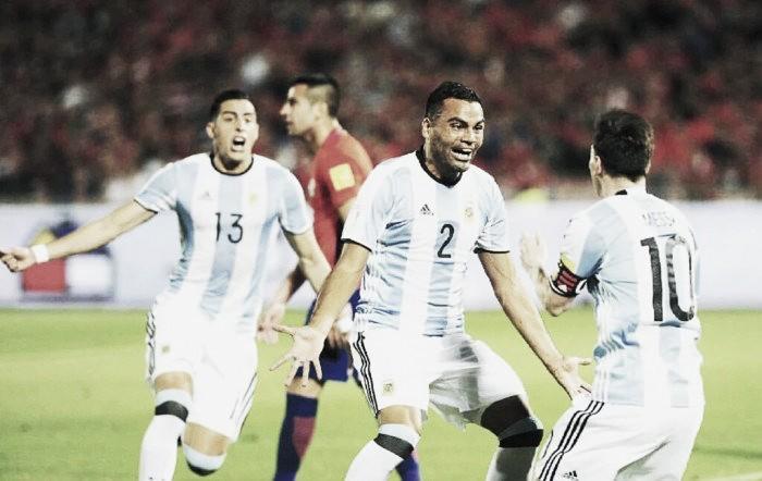Gaby y un gol clave en la Selección