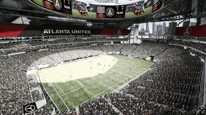 Atlanta united break season ticket record for mls for Mercedes benz stadium atlanta united
