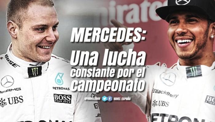 Mercedes: en una lucha constante por el campeonato