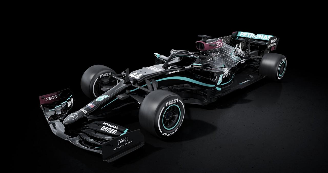 Mercedes usará pintura preta simbolizando luta contra o racismo