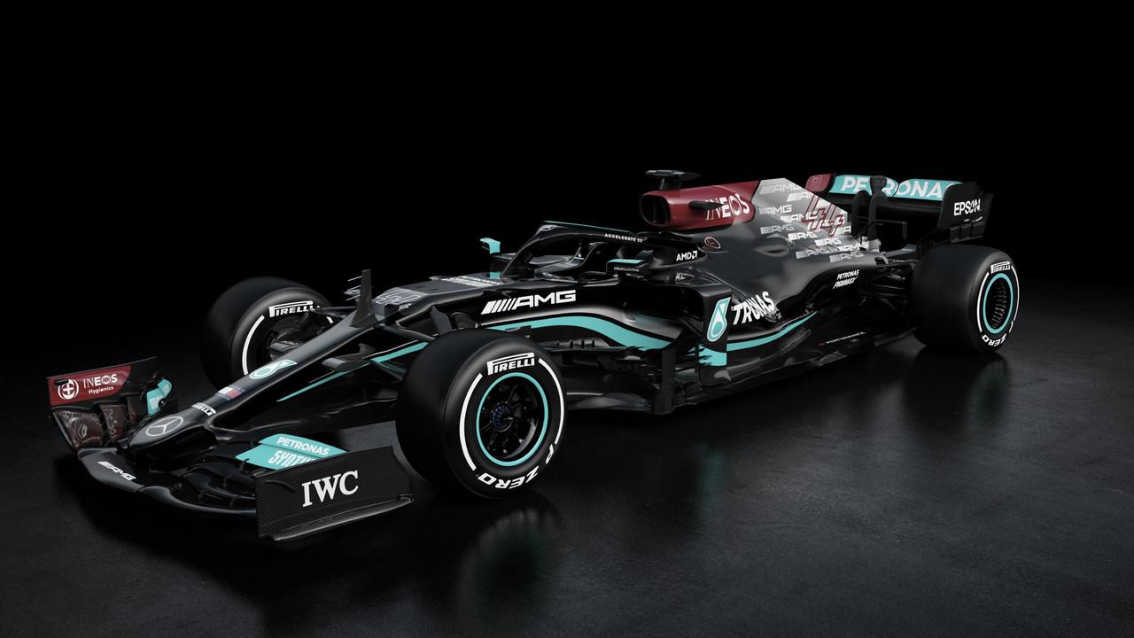Mercedes presenta la bestia a batir