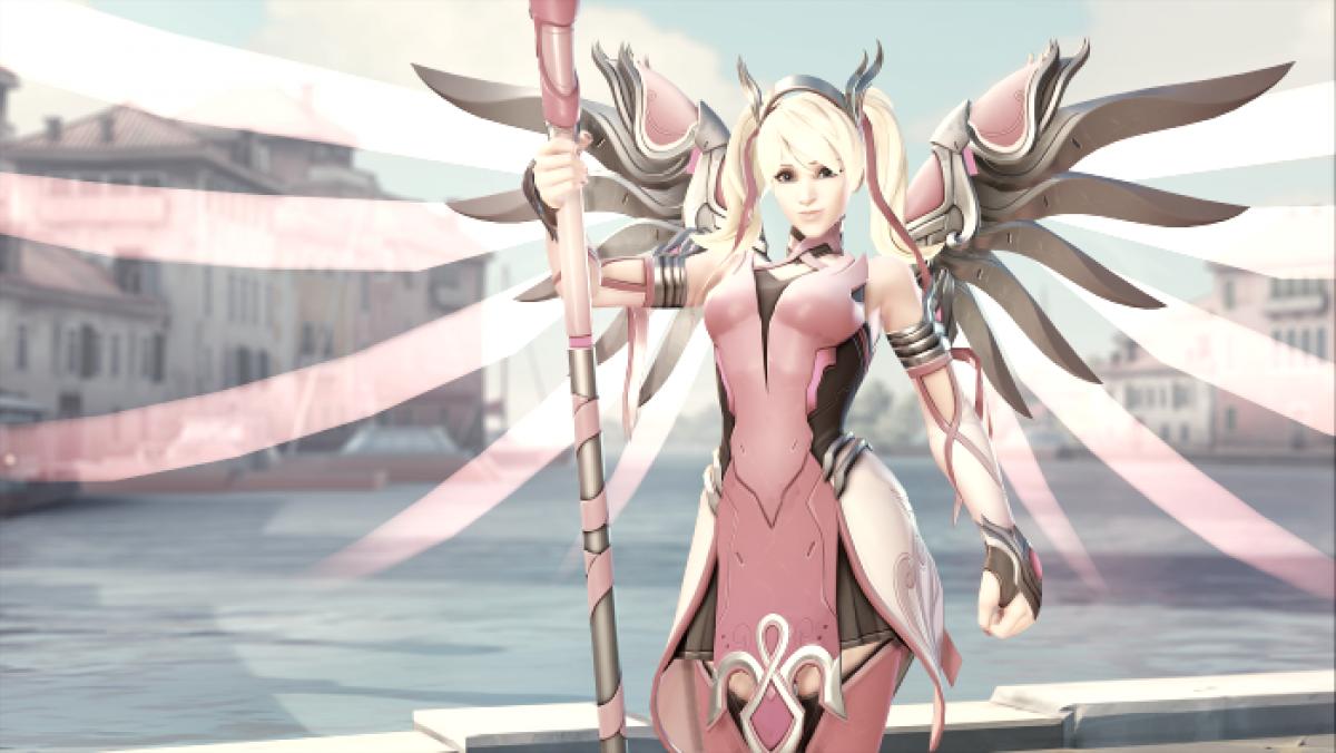 Overwatch: Mercy participa de campanha beneficente para buscar cura do câncer