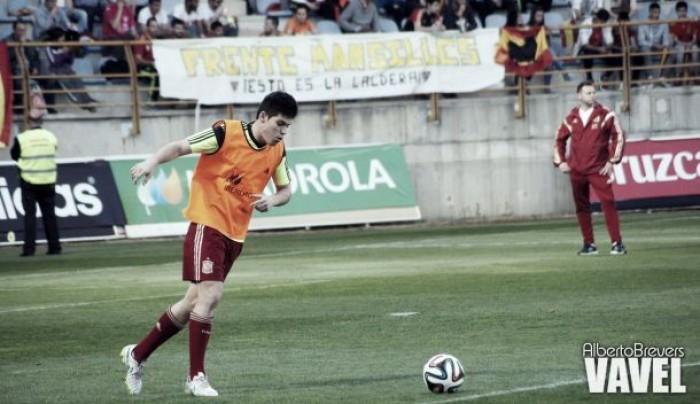 Jorge Meré de nuevo con la sub-21