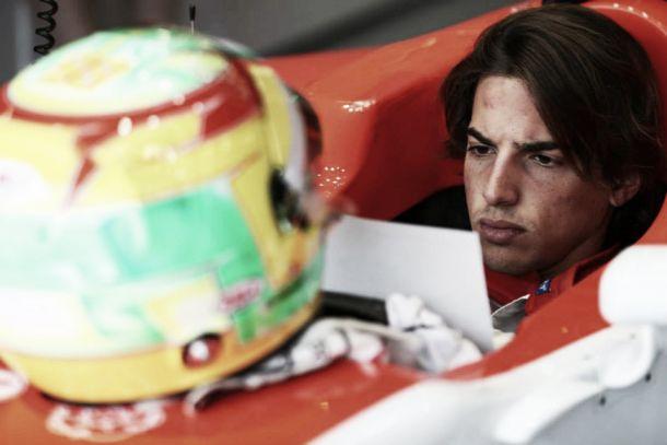 """Roberto Merhi: """"Era muy complicado conducir, pero la lluvia ha sido mi aliada"""""""