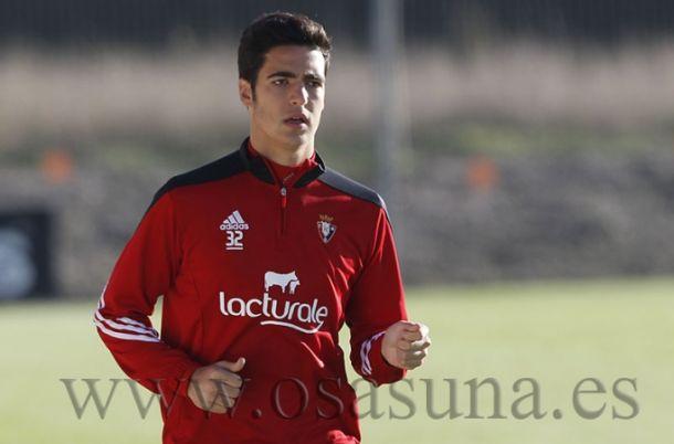 """Merino: """"Si estuviera pensando en otros equipos sería una falta de respeto hacia Osasuna"""""""