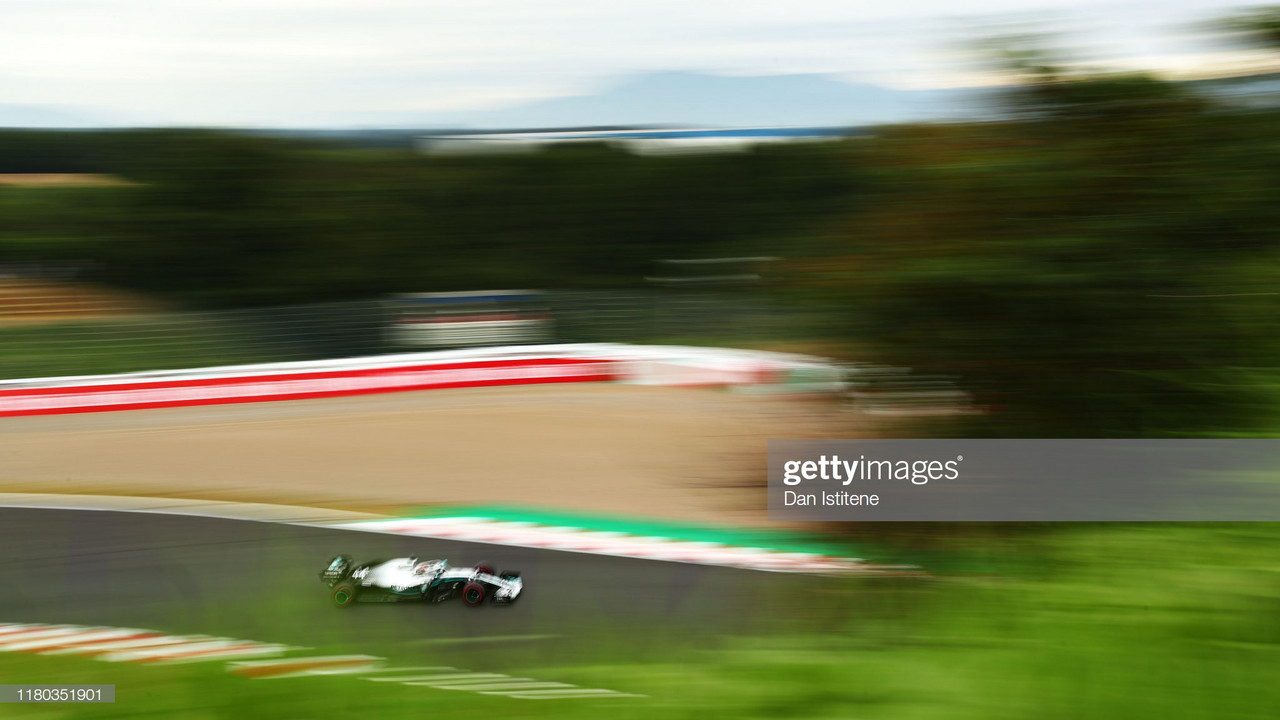 Mercedes top the charts as rain postpones qualifying