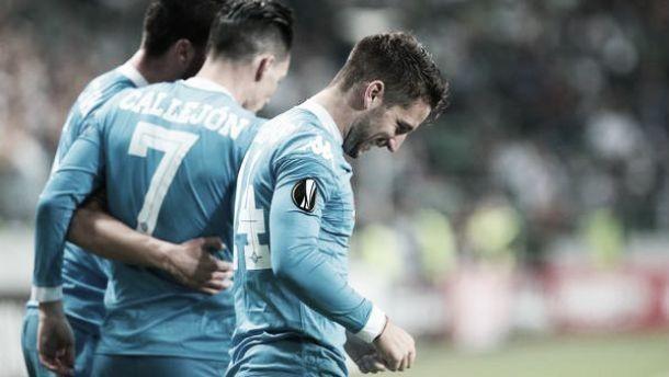 Liga Europa: Nápoles consegue nova vitória e atinge o pleno na fase de grupos