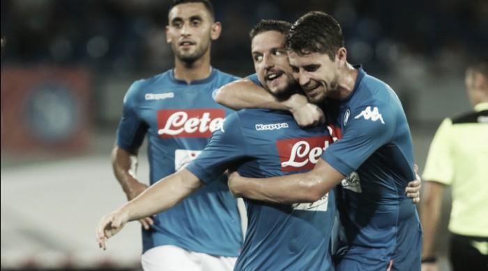 Napoli, prova generale superata: battuta l'Espanyol 2-0