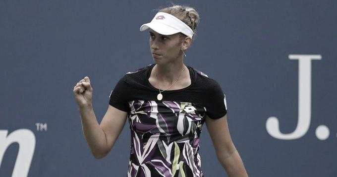 Mertens atropela Ahn e continua sem perder sets no US Open