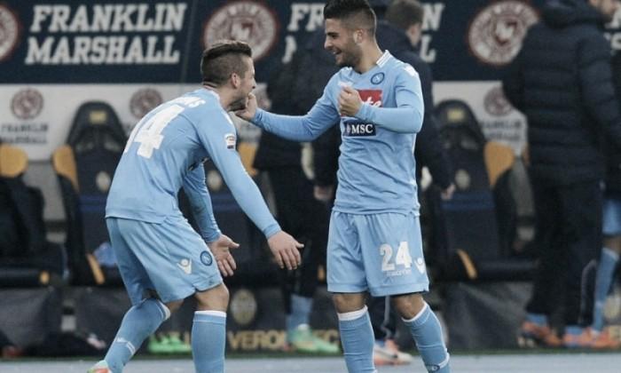Serie A - Le formazioni ufficiali di Cagliari - Napoli