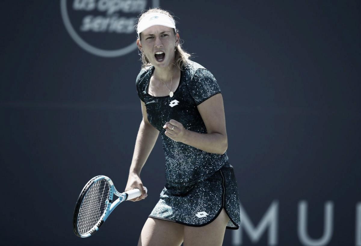 Elise Mertens supera Johanna Konta e vai jogar semifinais em San José