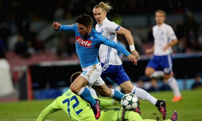Champions League: il Napoli attacca ma non sfonda, 0-0 con la Dinamo Kiev al San Paolo