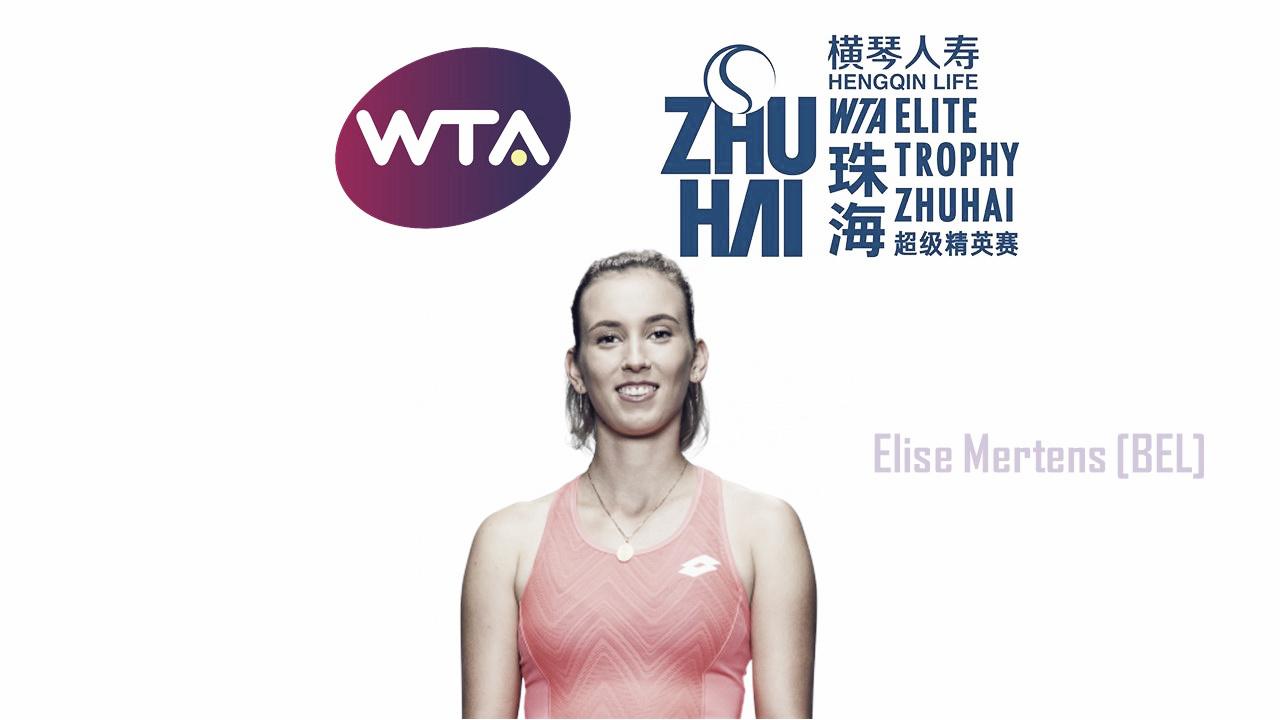 Elise Mertens qualifies for WTA Elite Trophy