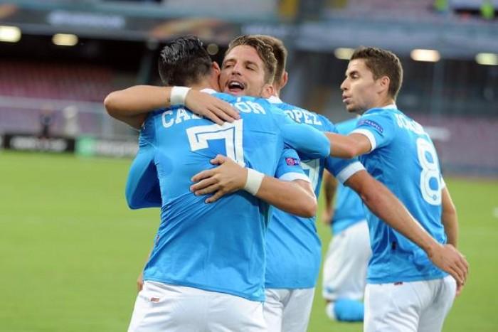 Napoli, duplice dubbio per Kiev: Albiol e Giaccherini saltano la Champions?