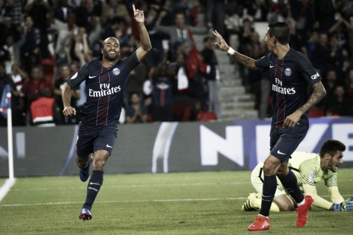 Lucas marca, PSG bate Metz e mantém 100% de aproveitamento na Ligue 1