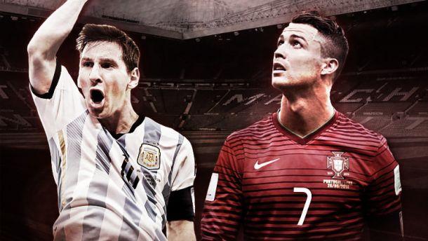 Ronaldo - Messi num duelo de galácticos