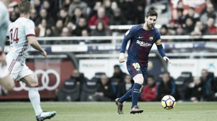 Barcelona empata com Celta em casa e chega a dois jogos sem vitória