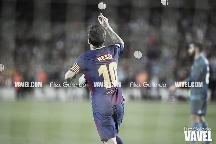 Leo Messi a ritmo de récord